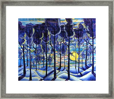 Solitude Framed Print by Rollin Kocsis