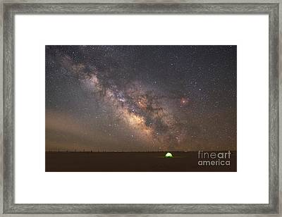 Solitude Under The Stars  Framed Print by Michael Ver Sprill