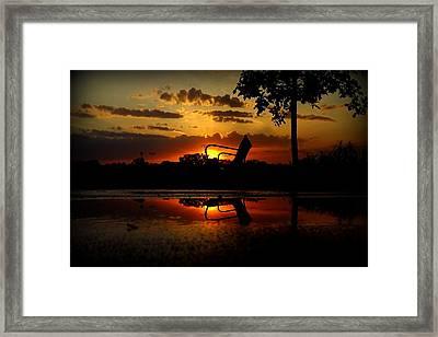 Framed Print featuring the photograph Solitude by Viviana  Nadowski