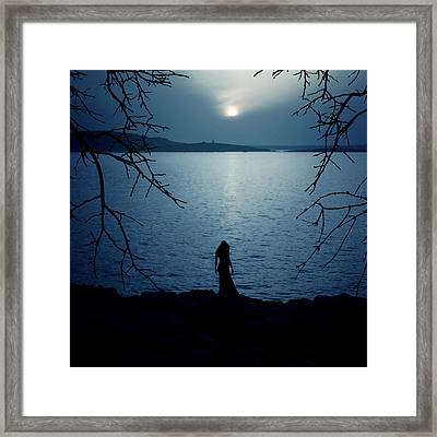 Solitude Framed Print by Cambion Art