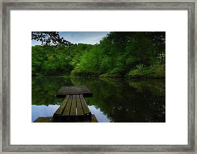 Solitudes  Framed Print