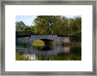Solivita Stone Bridge Framed Print