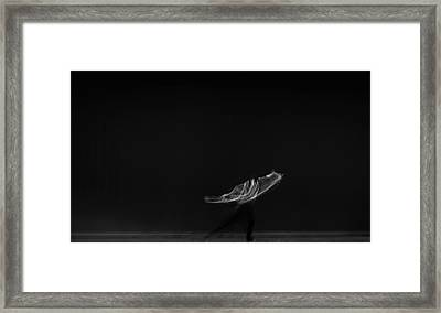 Framed Print featuring the photograph Solo Dancer  by Catherine Lau