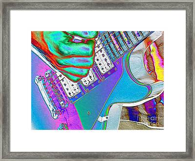 Solo Glow Framed Print by Roxy Riou