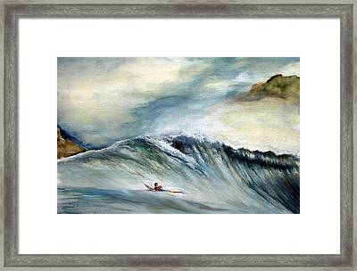 Solo Framed Print by Robert  Nelson