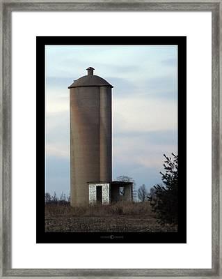 Solo Silo Framed Print