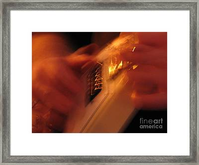 Solo Speed Framed Print by Roxy Riou