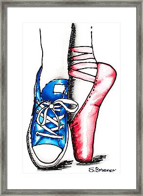 Solo Star Framed Print by Susan Brooker