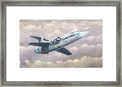 Solo Starfighter Framed Print