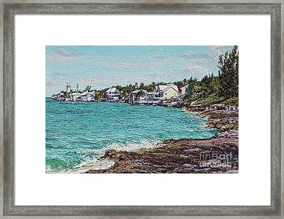 Solomons Lighthouse Framed Print