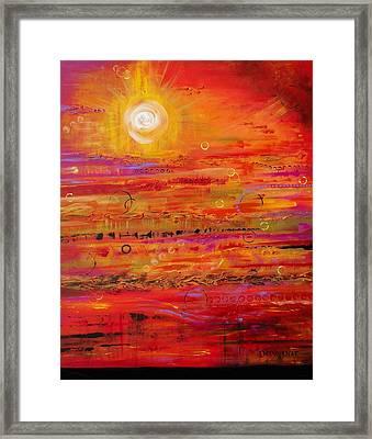 Solstice Framed Print by Denise Peat