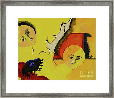 Framed Print featuring the painting Solstice by Paul McKey