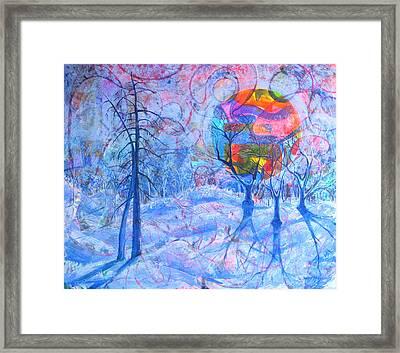 Solstice Framed Print by Rollin Kocsis