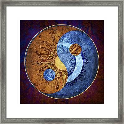 Soluna Framed Print