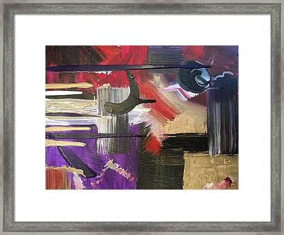 Solvent Cosmo Framed Print