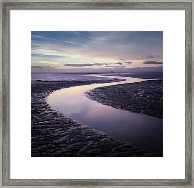 Solway Firth Dawn Framed Print