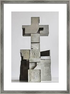 Soma Structure 1 Framed Print by David Umemoto