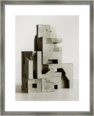 Soma Structure 3 Framed Print by David Umemoto