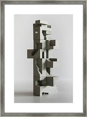 Soma Structure 5 Framed Print by David Umemoto