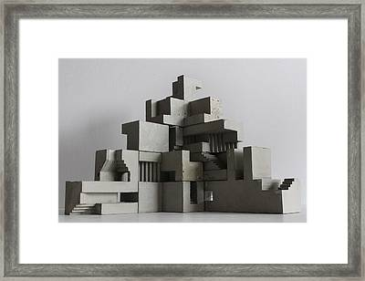 Soma Structure 6 Framed Print by David Umemoto