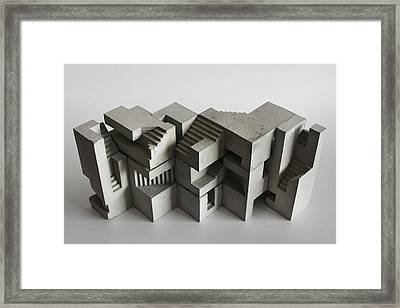 Soma Structure 8 Framed Print by David Umemoto