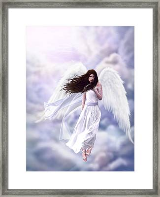 Some Clouds Have Wings Framed Print