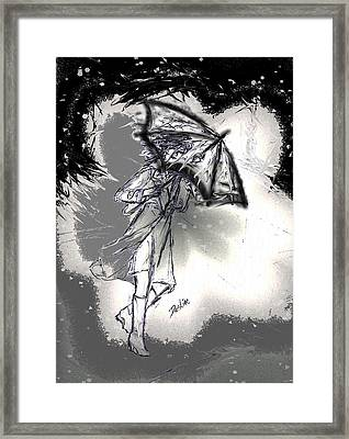 Some Days It Just Pays To Stay In Bed Framed Print