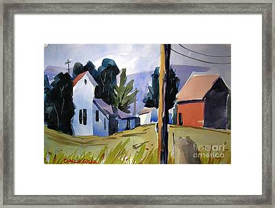 Some Enchanted Morning Double Matted Framed Print by Charlie Spear