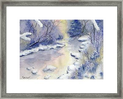 Some Frosty Morning Framed Print