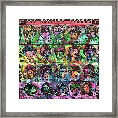 Some Girls Redux Framed Print