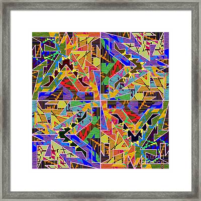 Some Harmonies And Tones 71 Framed Print