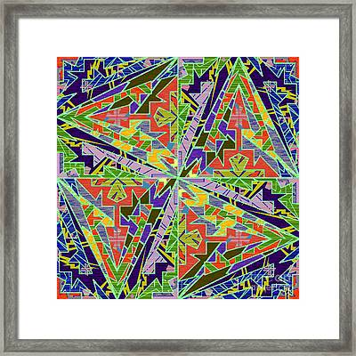 Some Harmonies And Tones 72 Framed Print