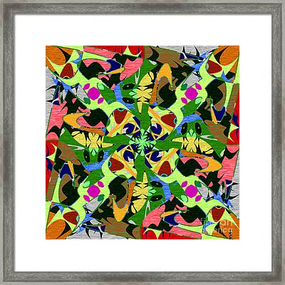 Some Harmonies And Tones 74 Framed Print
