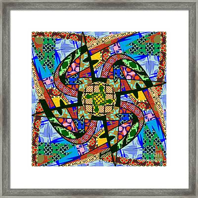 Some Harmonies And Tones 75 Framed Print