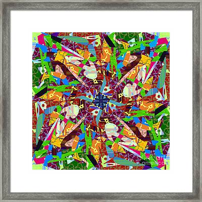 Some Harmonies And Tones 76 Framed Print