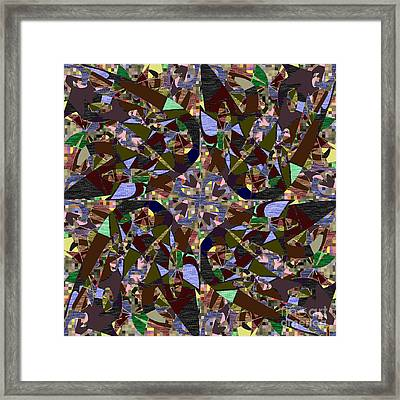 Some Harmonies And Tones 77 Framed Print