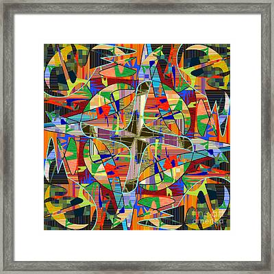 Some Harmonies And Tones 78 Framed Print