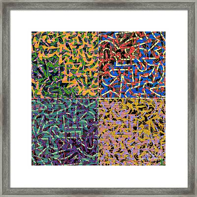 Some Harmonies And Tones 79 Framed Print