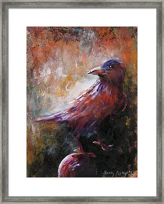 Some Late Visitor Framed Print by Sandy Applegate
