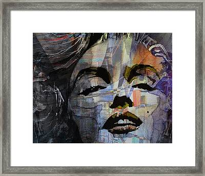 Some Like It Hot Retro Framed Print