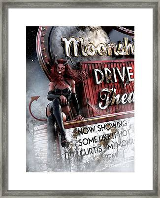 Some Like It Hot Framed Print by Shanina Conway