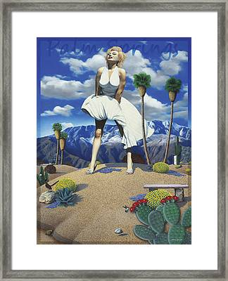 Some Like It Hot Framed Print by Snake Jagger