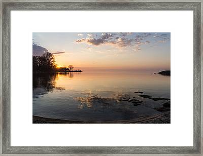 Some Mornings Are Better Than Others Framed Print by Georgia Mizuleva