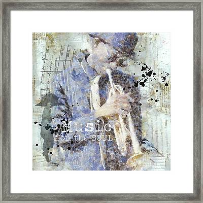 Some Music For The Soul Framed Print