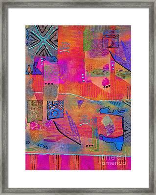 Some Of Us Dream In Color Framed Print by Angela L Walker