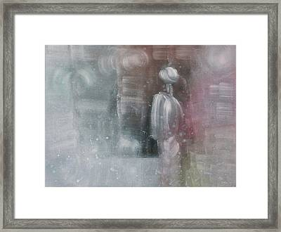 Some People Live Very Tired Framed Print