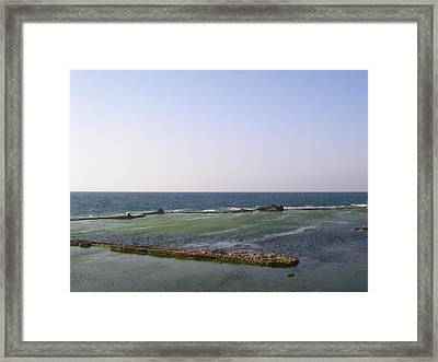 Some Ruins In The Old City Of Akko Framed Print by Susan Heller