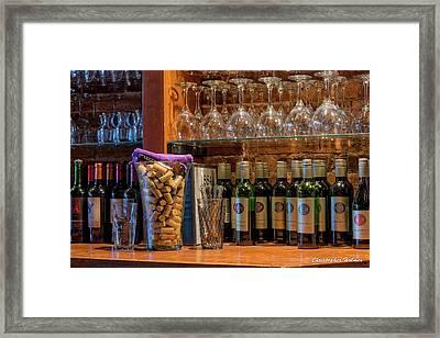 Some Wine Framed Print
