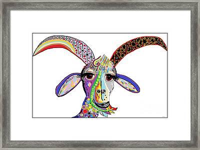 Somebody Got Your Goat? Framed Print
