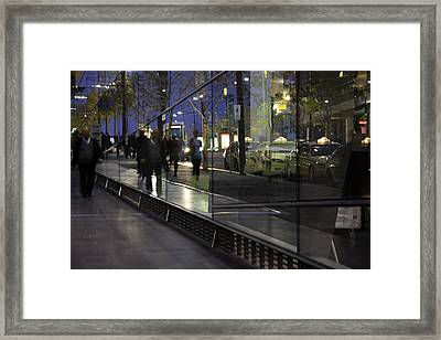 .somebody. Framed Print by Kelly Jade King
